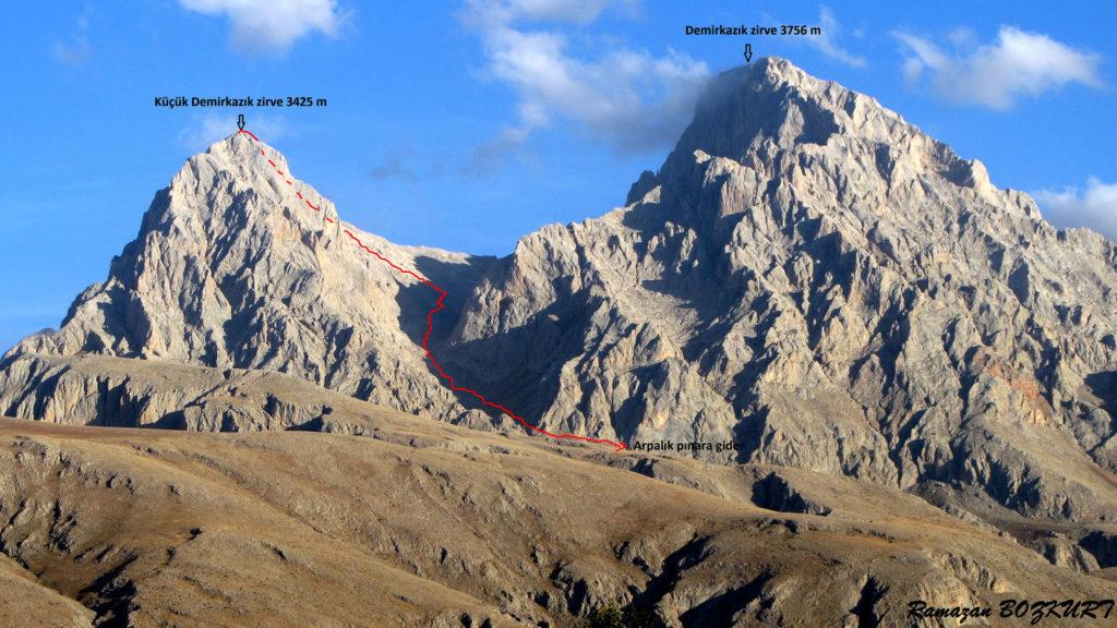 Küçük Demirkazık Dağı Zirvesi
