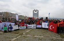 Trabzon'da anma etkinliği gerçekleştirildi.