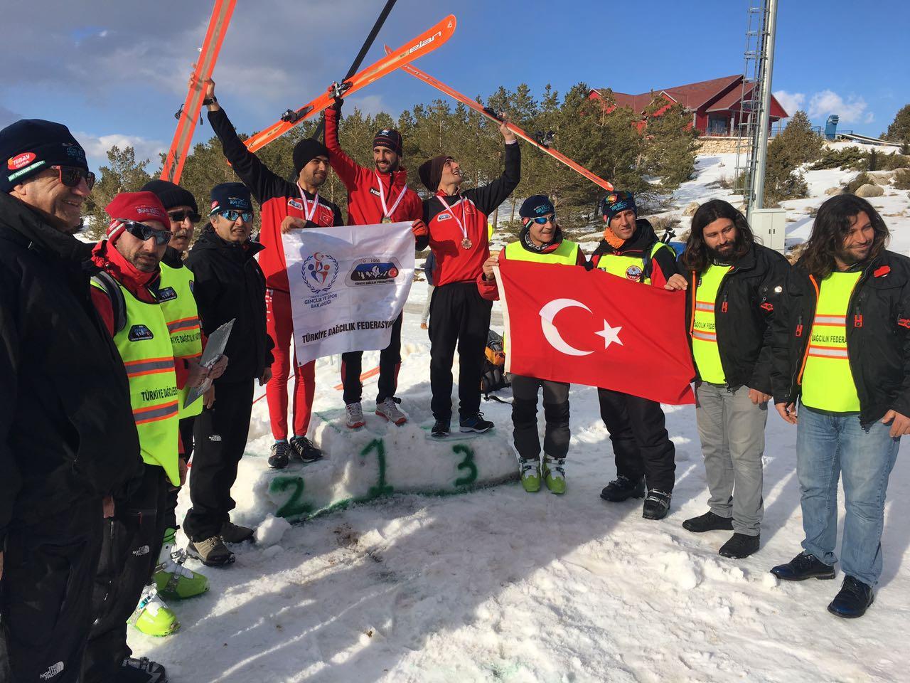 Dağ Kayağı Türkiye Şampiyonası 2017 Ergan Dağı'nda tamamlandı.