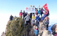 Haça Dağı Kış Zirve Tırmanışı