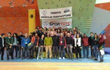 Spor Tırmanış Boulder 1. Ayak Türkiye Şampiyonası tamamlandı.