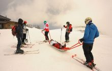 Dağ Kayağı İleri Eğitimi Kayseri'de yapıldı.