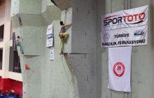 Spor Tırmanış Büyükler Lider Tırmanış Şampiyonası 1. Ayak tamamlandı.