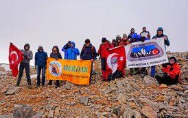 Yıldız (Tezcan) Dağı 19 Mayıs Atatürk'ü Anma Gençlik ve Spor Bayramı Tırmanışı gerçekleştirildi.