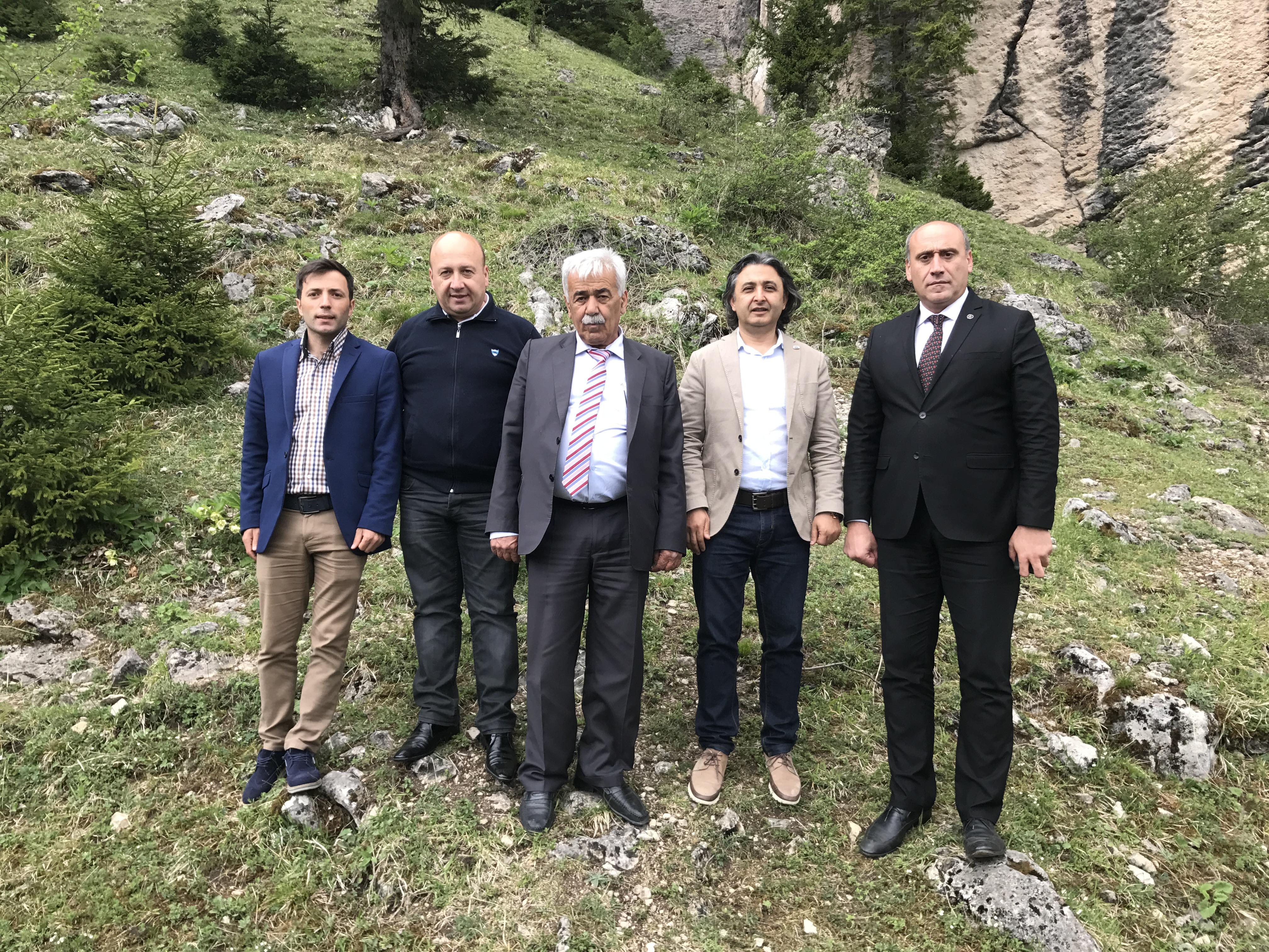 Trabzon - Doğankaya'da Ön İnceleme