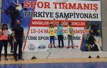 2017 Yılı Spor Tırmanış Yarışmaları Madalya Sıralaması