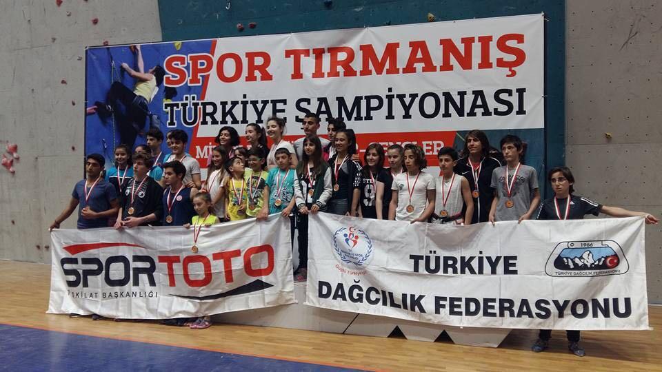 Spor Tırmanış 1. Kademe Antrenör Kursu (Özel Eğitim) – Trabzon Katılımcı Listesi