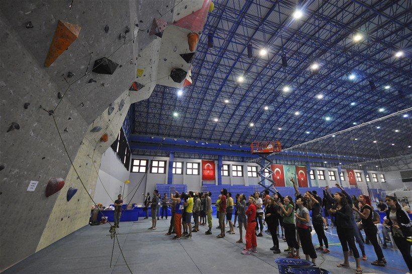 Spor Tırmanış Büyükler Lider Şampiyonası 2. Ayak tamamlandı