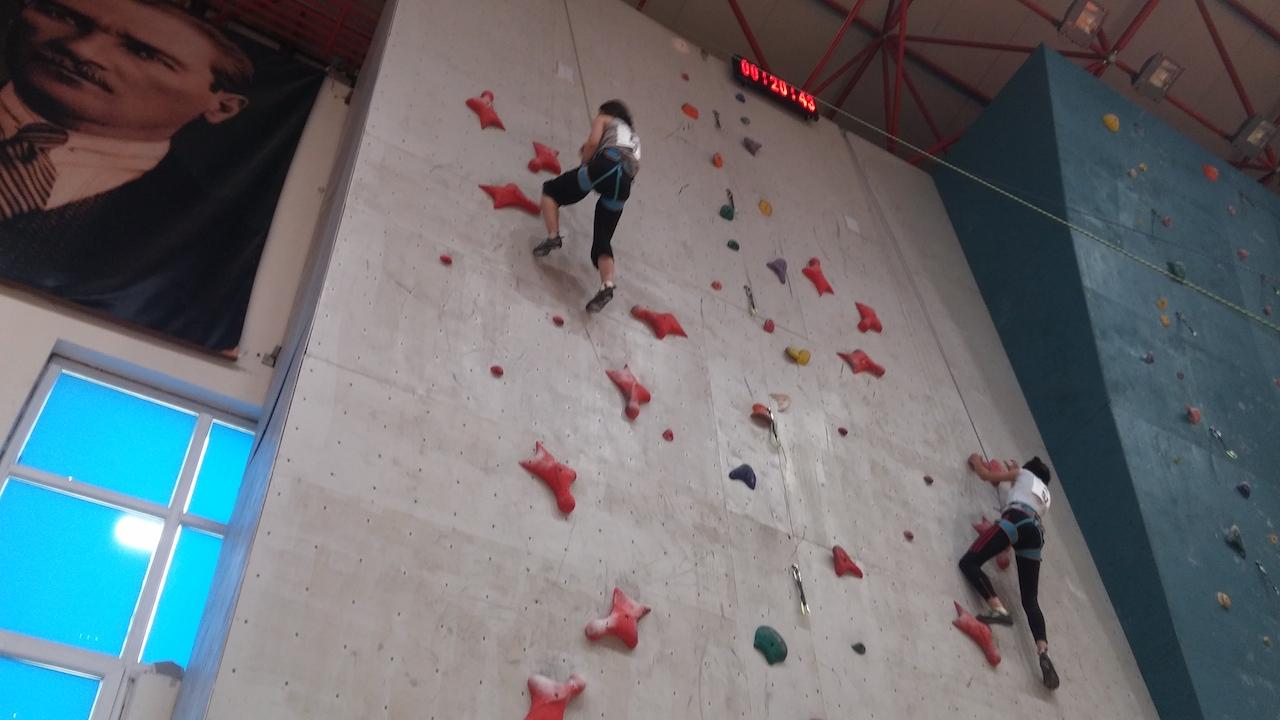 Spor Tırmanış Lider-Hız Milli Takım Hazırlık Kampı - Bursa