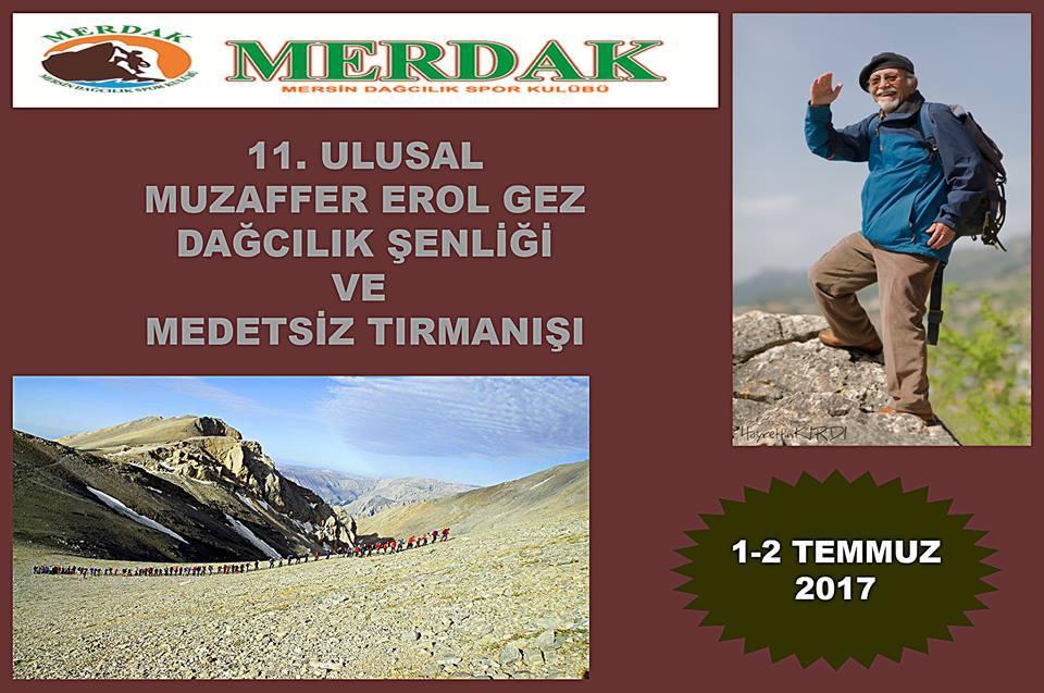 11. Karboğazı - Muzaffer Erol Gez Dağcılık Şenliği ve Medetsiz Dağı Tırmanışı