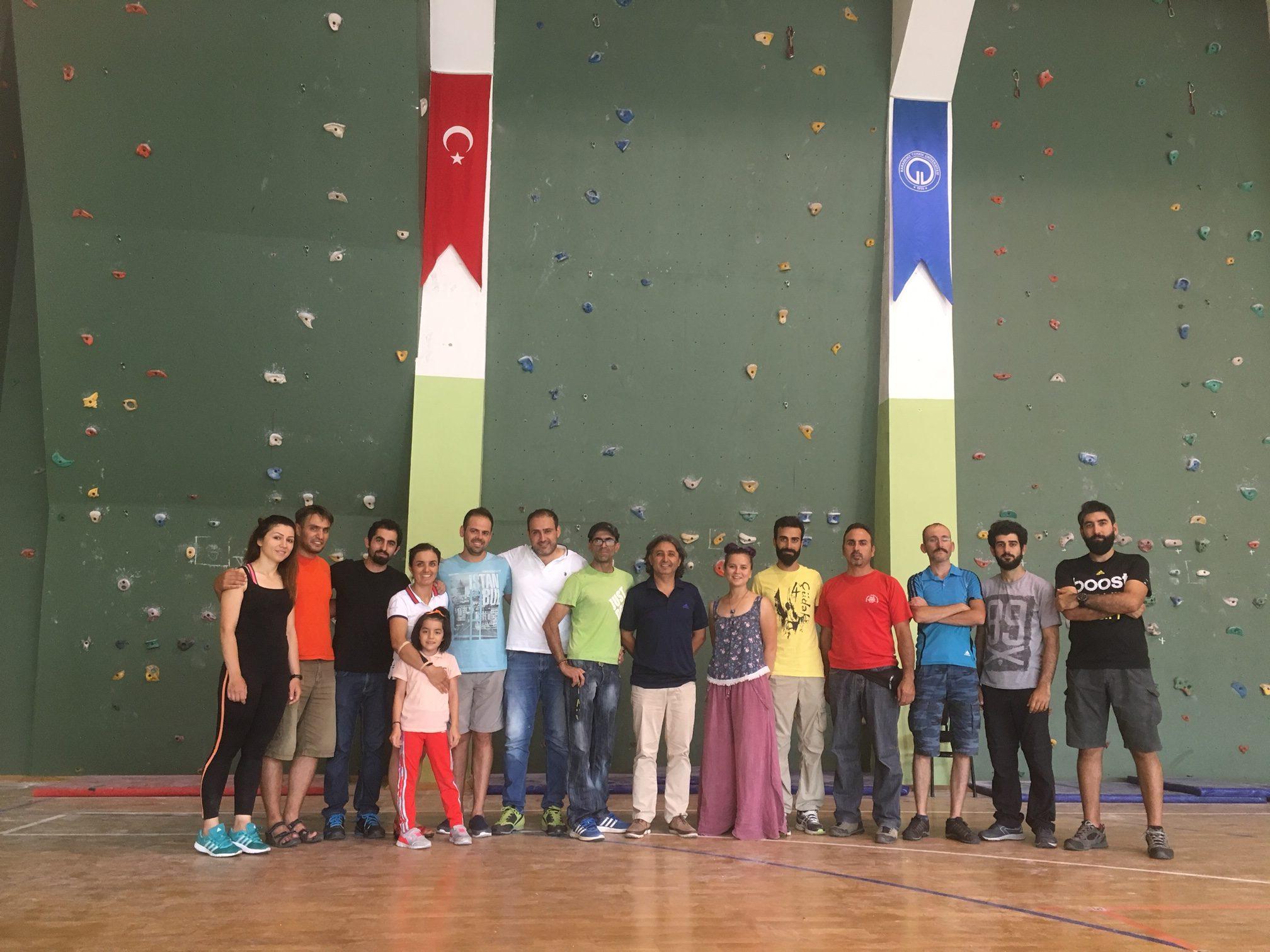 Federasyon Başkanımız Sayın Doç. Dr. Ersan BAŞAR'dan Spor Tırmanış Antrenörlük Kampı Ziyareti