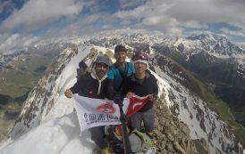 Elbruz ve Terskolak Dağları Zirve Tırmanışları İDADİK tarafından gerçekleştirildi.