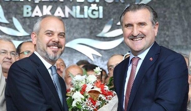 Gençlik ve Spor Bakanı Sayın Osman Aşkın Bak'ı tebrik ediyoruz.
