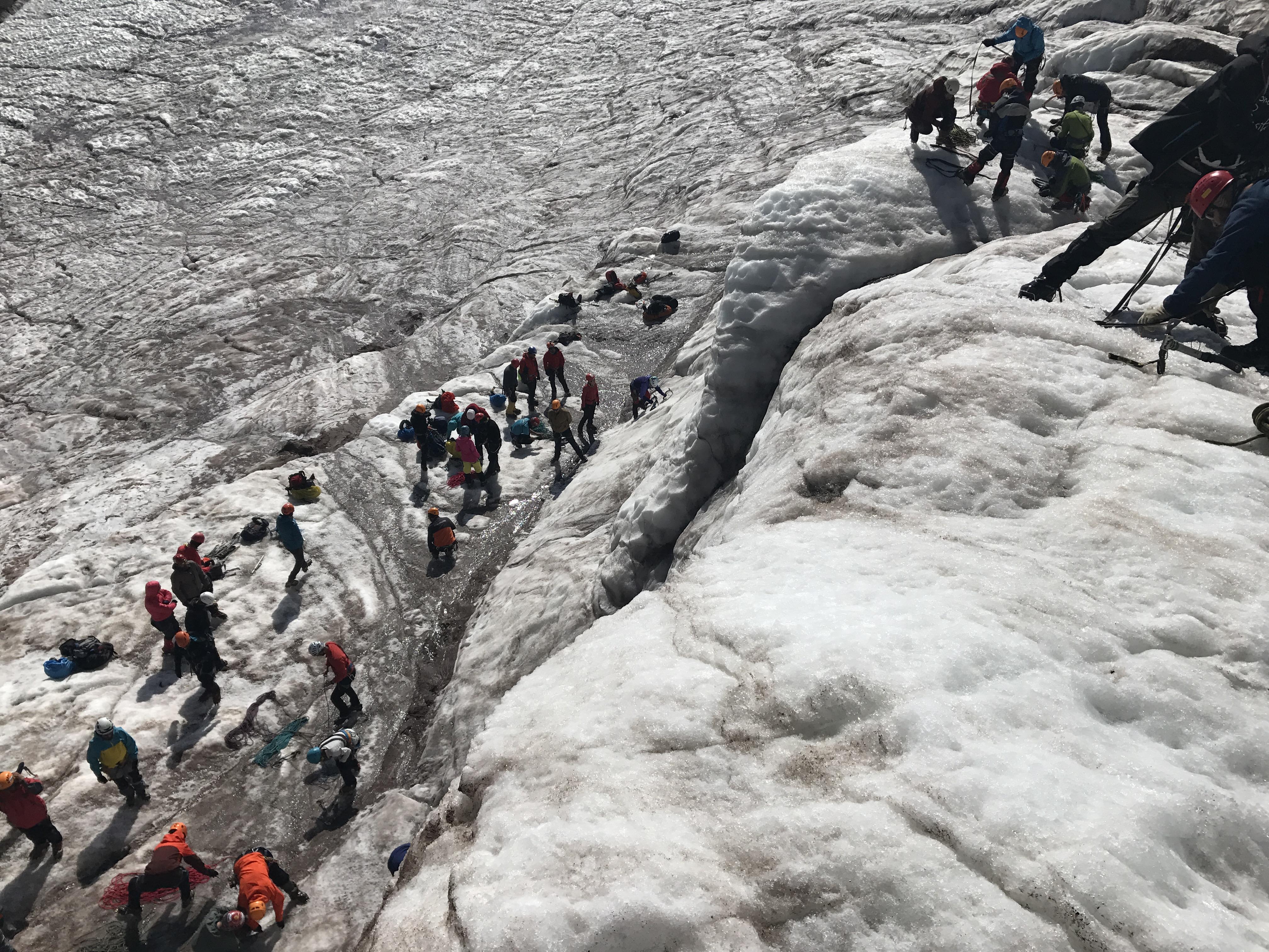 İleri Kar Buz Eğitimi - Rize/Kazbek Başvuruları