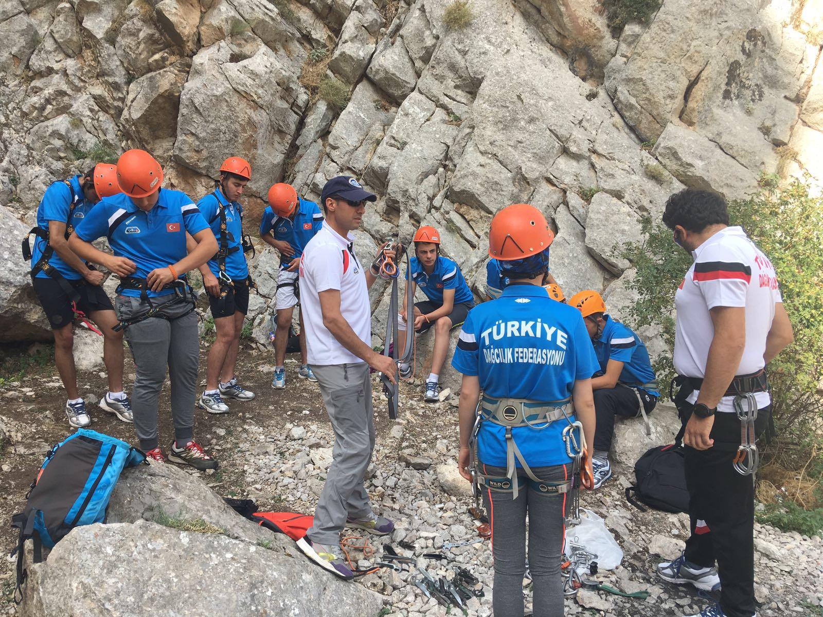 İleri Kaya Eğitimi 4. Kamp - Niğde Katılımcı Listesi