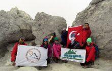 İZGEDAK Demavend Dağı Zirve Tırmanışını başarıyla tamamladı.