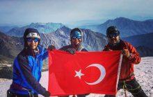 Mersin Dağcılık Kulüpleri Türkiye ve Gürcistan'da başarılı zirve tırmanışları gerçekleştirdiler.