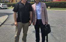 UIAA Başkan Yardımcısı Peter Farkas Federasyon Başkanımız Ersan Başar ile İstanbul'da görüştü.