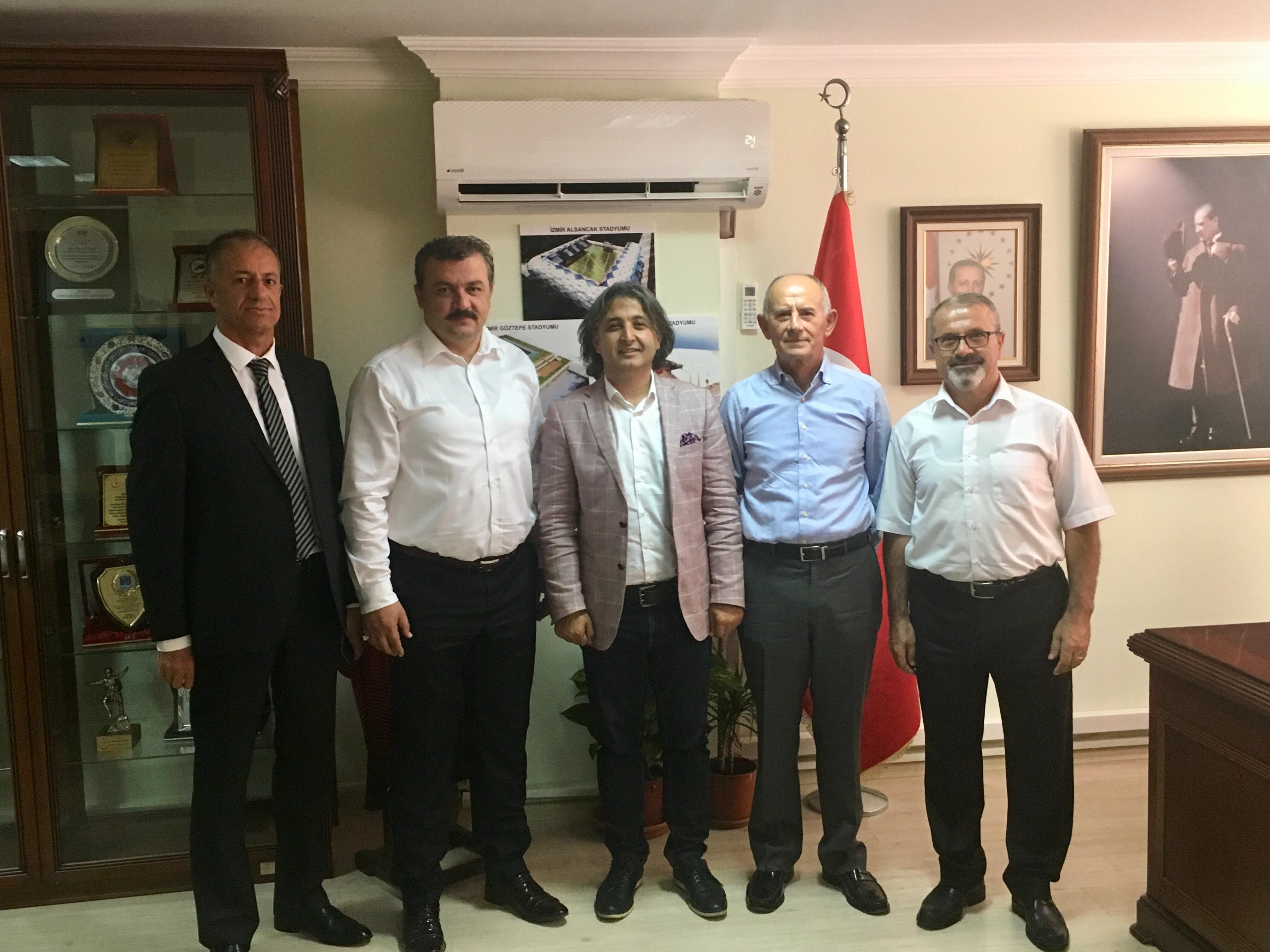 Federasyon Başkanımız İzmir Kulüpleri ile buluştu.