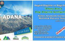 Adana Alaca Dağ Dağcılık Şenliği