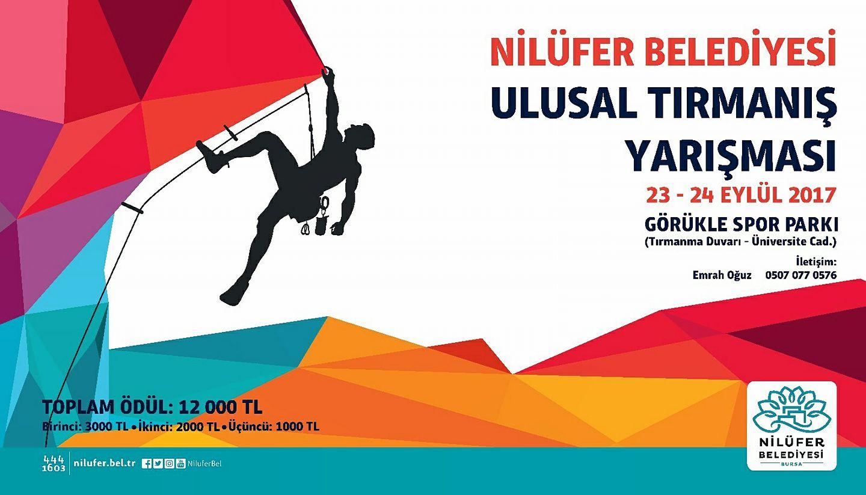 Nilüfer Belediyesi Spor Tırmanış Yarışması - Bursa