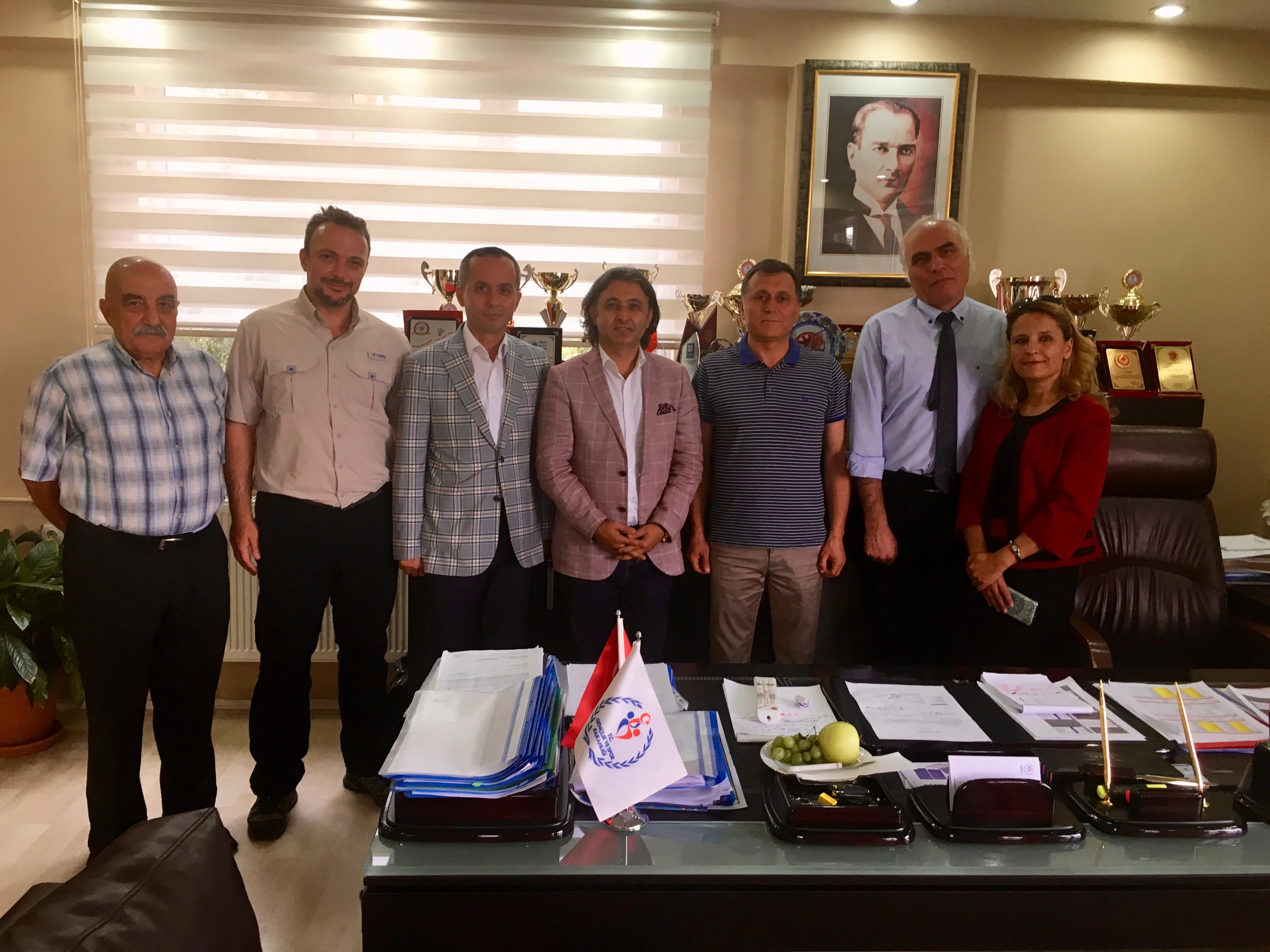 Federasyon Başkanımız İstanbul ve Isparta'da kulüplerimizi ziyaret etti.