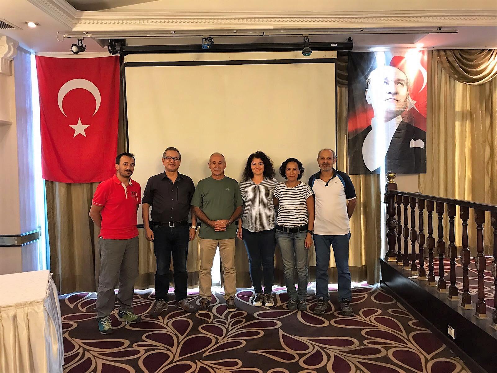 TDF Merkez Hakem Kurulu (MHK) Ankara'da toplandı.