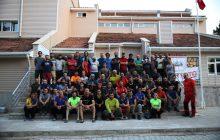 İleri Kaya Eğitimi 3. Kamp tamamlandı.