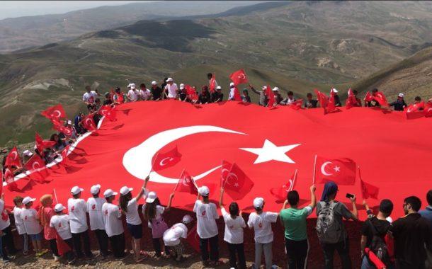 Erzurum İl Temsilciliği 29 Ekim Anma Tırmanış Etkinliği