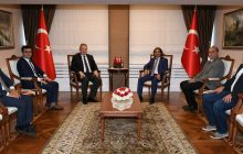 Federasyon Başkanımızdan Trabzon Valisine Ziyaret