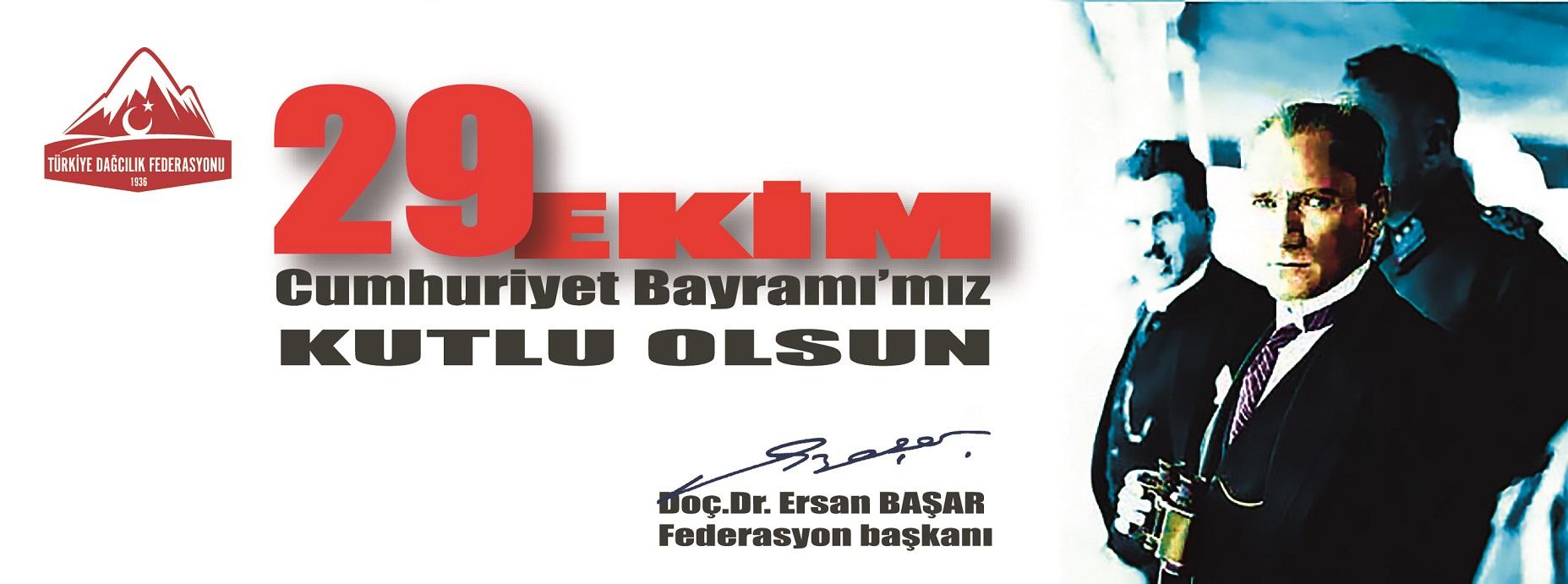 TDF Başkanı Doç. Dr. Ersan Başar'dan 29 Ekim Mesajı
