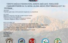 Isparta İl Temsilciliği 29 Ekim Anma Tırmanış Etkinliği