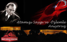 TDF Başkanı Prof. Dr. Ersan Başar'dan 10 Kasım Mesajı