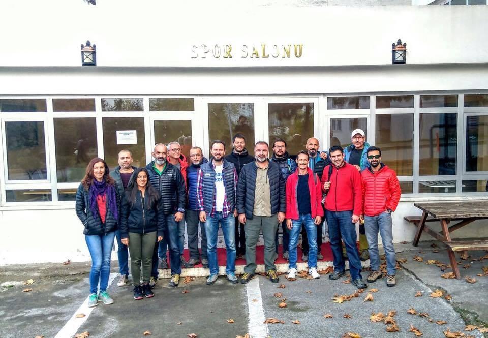 Dağcılık 1. Kademe Antrenörlük Teorik Eğitimi Trabzon'da düzenlendi.