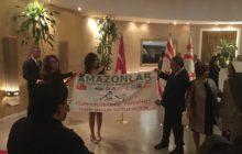 Amazonlar Dağcılık Kulübü Beşparmak Dağları'na tırmanış gerçekleştirdi.