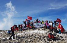 Davras Dağı 3. Ulusal Ata'yı Anma Zirve Tırmanışı başarıyla gerçekleştirildi.