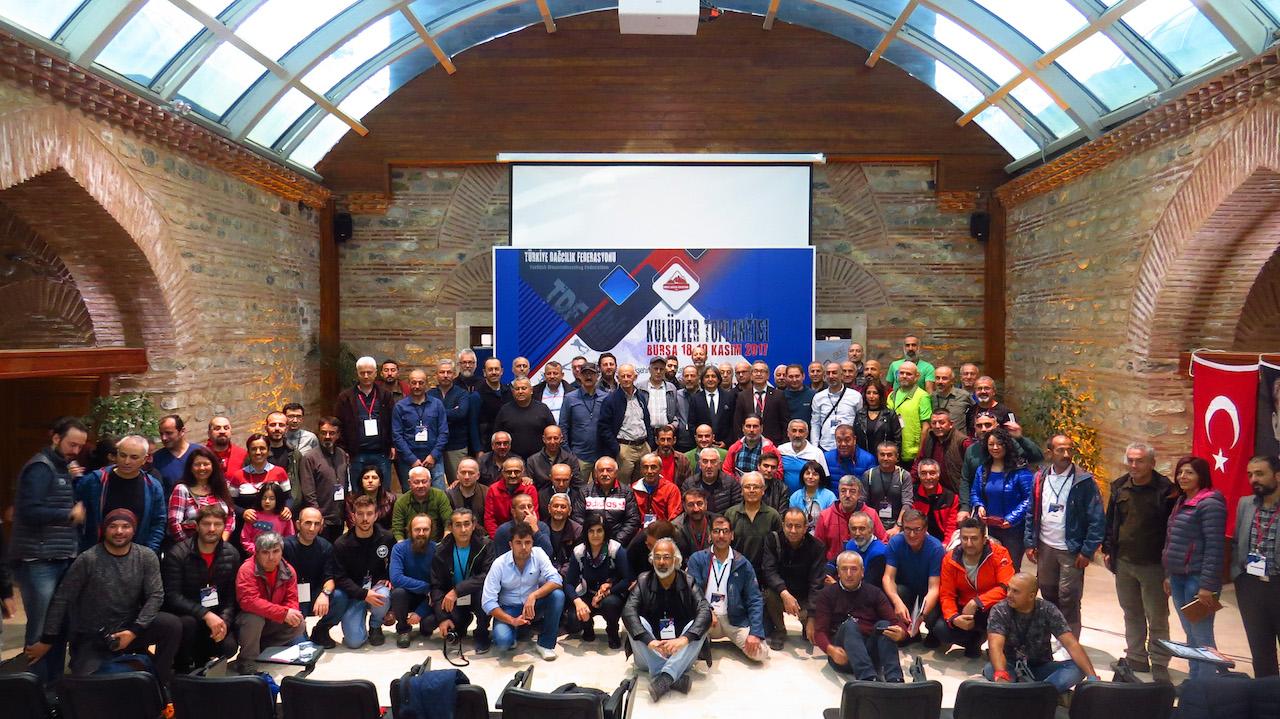 Türkiye Dağcılık Federasyonu 2017 Yılı Kulüpler Toplantısı Sonuçları