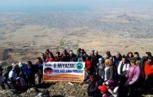 6. Miyazaki Erek Dağı Zirve Tırmanışı gerçekleştirildi.