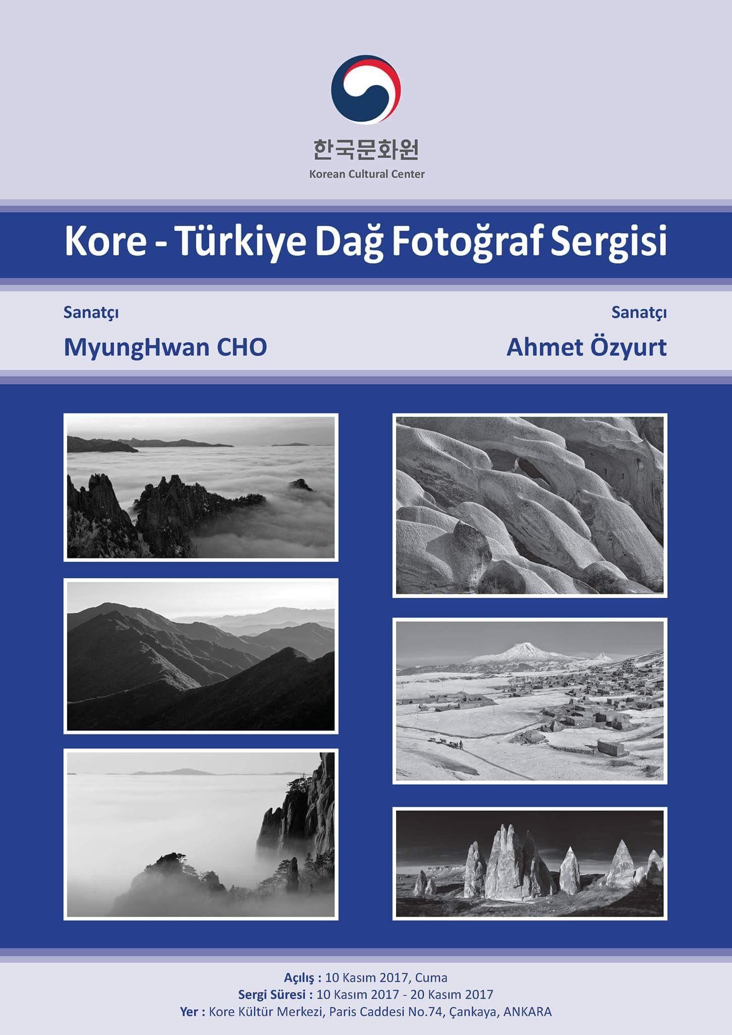 Kore - Türkiye Dağ Fotoğraf Sergisi Duyurusu