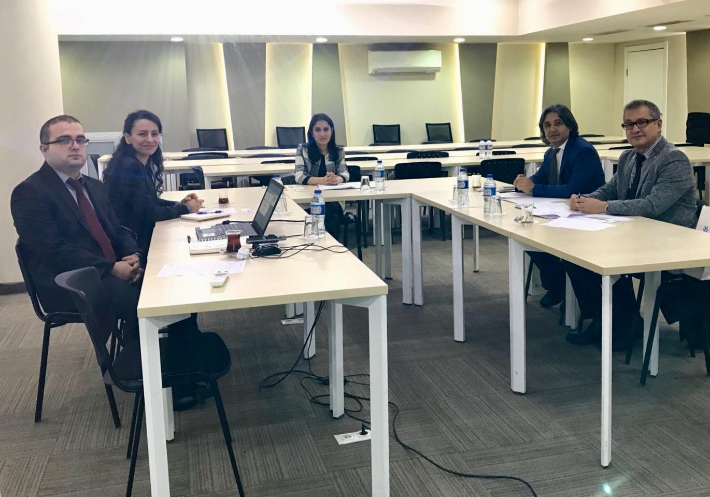 Mesleki tanımlamaların yapılabilmesi için Mesleki Yeterlik Kurumu ile toplantı yapıldı.
