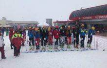 2018 Türkiye Dağ Kayağı Yarışması Kayseri'de gerçekleştrildi.