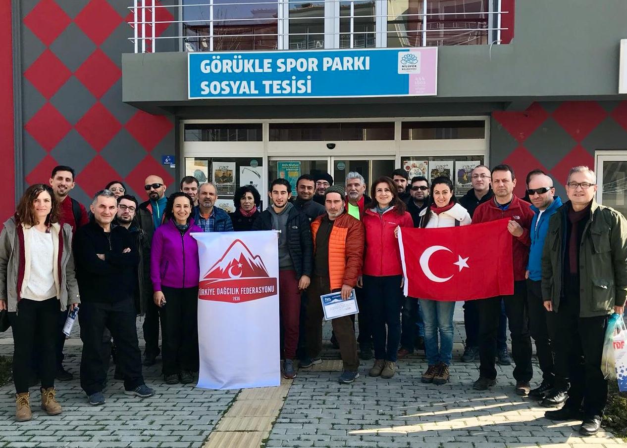 Spor Tırmanış Hakem Semineri Bursa'da tamamlandı.