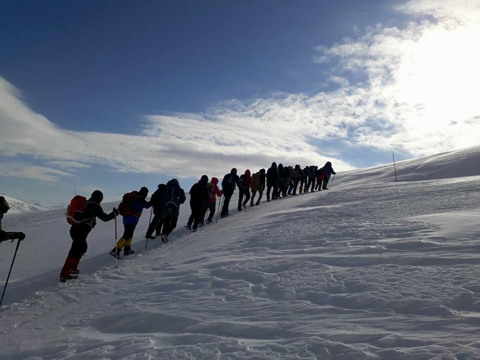 Kış Yürüyüş Liderliği - Antalya Katılımcı Listesi