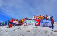 ERDAK 8. Aydos Kış Tırmanışı başarıyla tamamlandı.