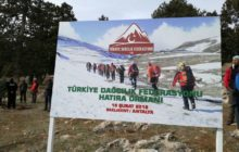 Antalya Saklıkent'te TDF Hatıra Ormanı oluşturuldu.
