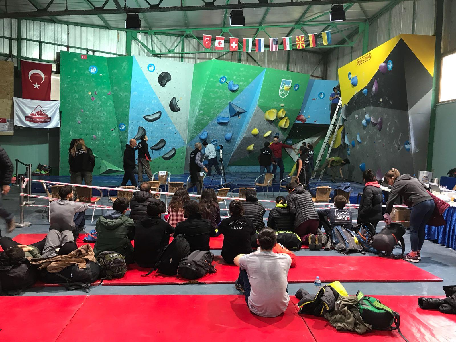 Büyükler Boulder Türkiye Şampiyonası İstanbul Sonuçları