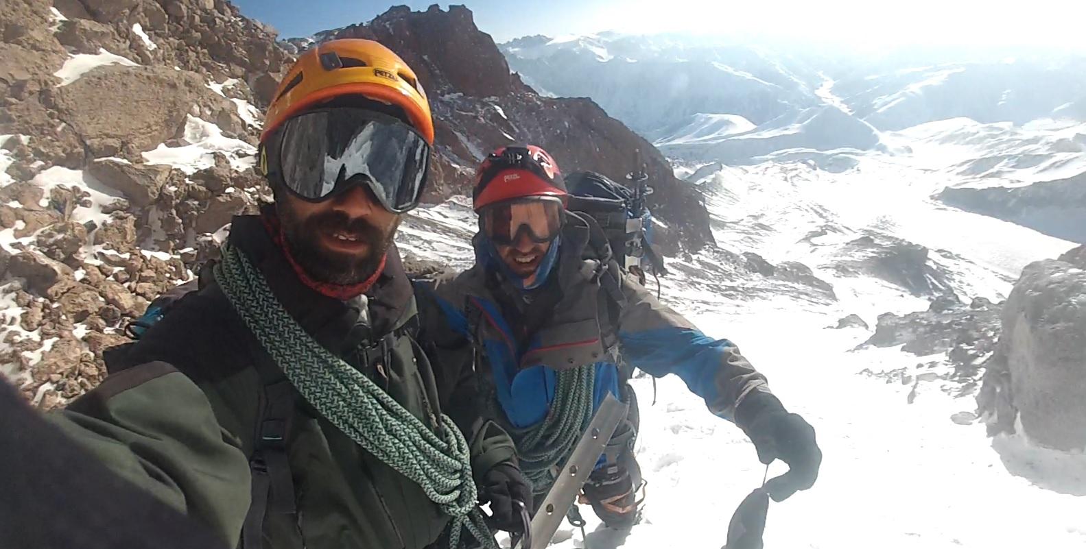 Kazbek Dağı Dragon Rocks Rotası İlk Türk Kış Tırmanışı