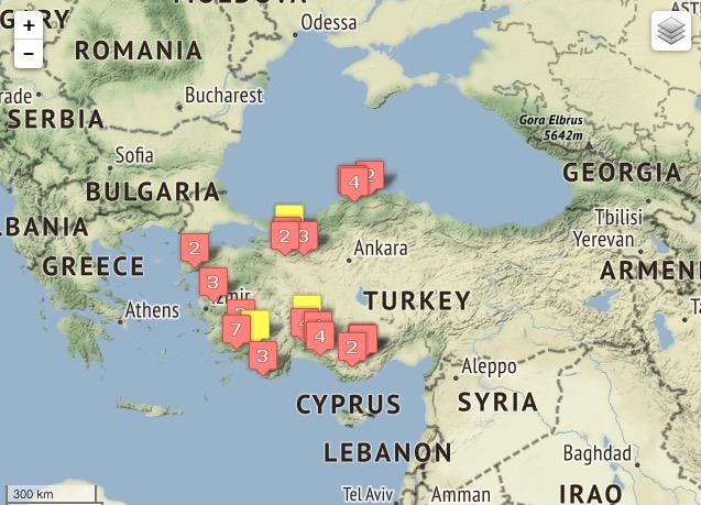 Türkiye'deki Kanyonlar Coğrafi Bilgi Sisteminde!