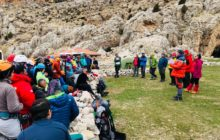 Kış Arama Kurtarma Eğitimi Niğde'de başarıyla tamamlandı.