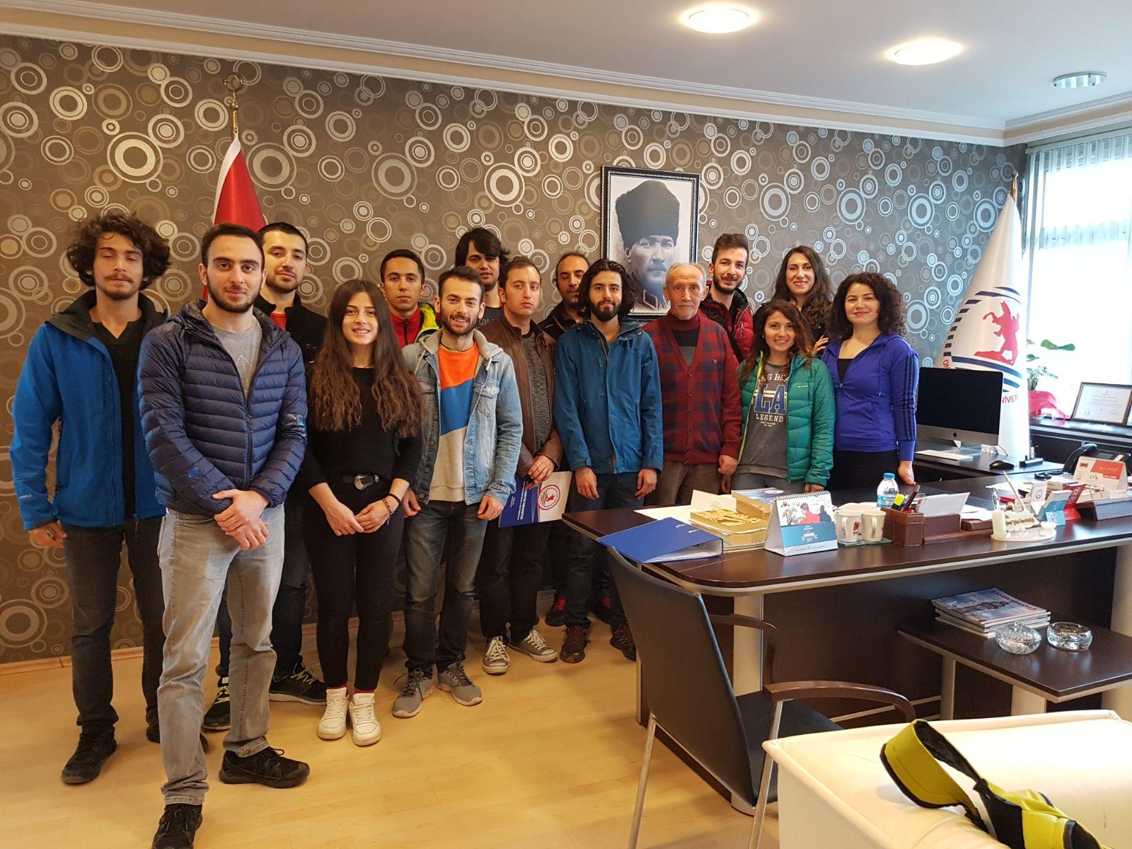 Samsun'da düzenlenen Spor Tırmanış 1. Kademe Antrenörlük Kursu başladı.